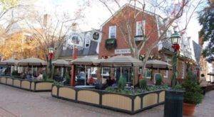 The Charming Shopping District In Virginia That You Can Get To By Train