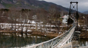 The Stomach-Dropping Suspended Bridge Walk You Can Only Find In Virginia