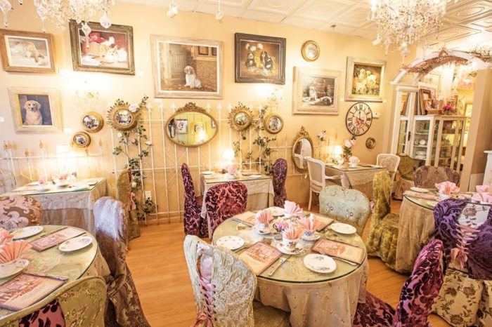 Visit The English Rose Tearoom In Carefree Arizona