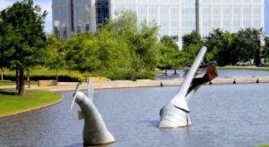 Most People Have No Idea There's A Sculpture Garden Hiding In Dallas – Fort Worth And It's Magical