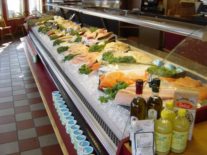 This connecticut fish market on the coast belongs on your for Fish market ct