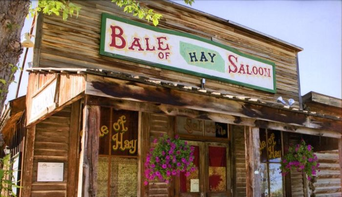 Image result for bale of hay saloon