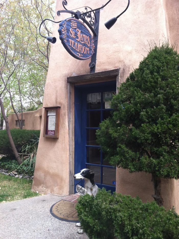 Visit The St. James Tearoom In Albuquerque, New Mexico