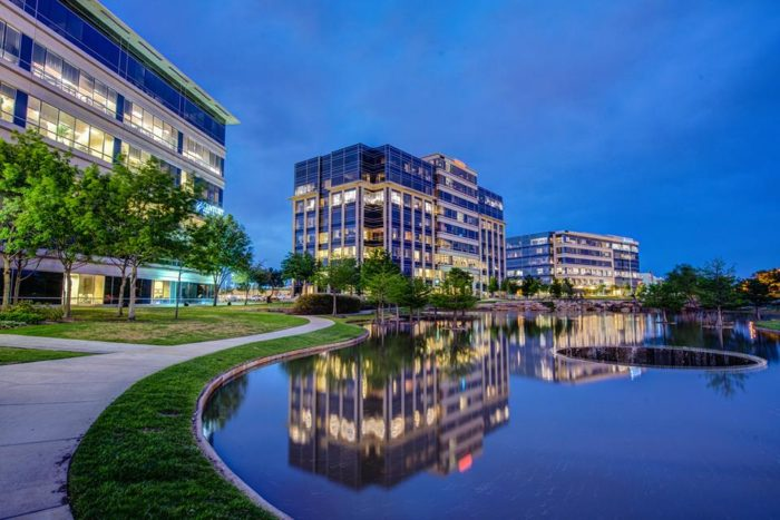 Hall Park Is A Thriving 162 Acre Business Area In Frisco