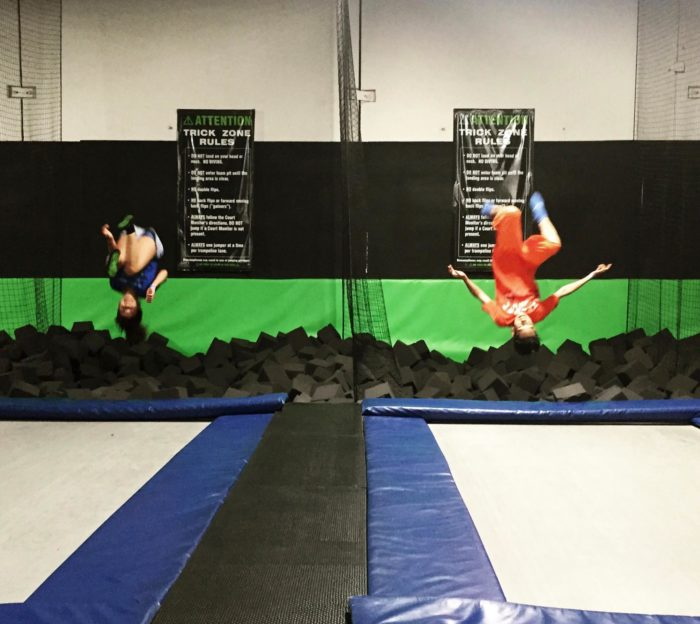 Springs Trampoline Park Waiver: G6 Airpark Is Portland's Best Indoor Playground