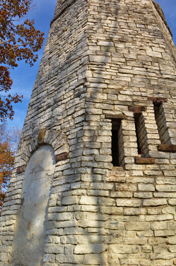 Abandoned Places In Ohio >> Abandoned Tower Hike In Ohio: Hills and Dales MetroPark Stone Tower