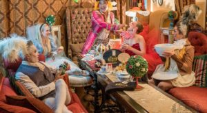 The Whimsical Tea Room In New Mexico That's Like Something From A Storybook