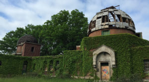 12 Haunting Photos Of Cleveland's Abandoned Astronomy Tower That Will Leave You In Awe