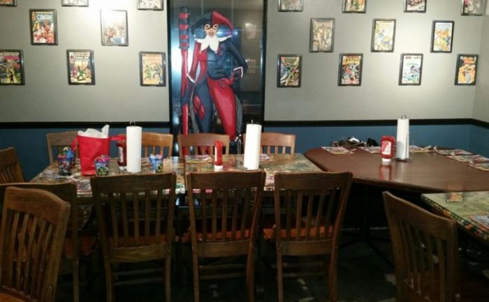 New Restaurant On Winchester Road Features Super Hero ...