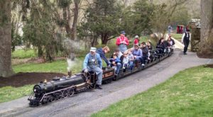 There's A Little-Known, Fascinating Train Park In Delaware And You'll Want To Visit