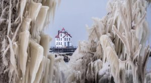 11 Places Around Cleveland That Transform Into Mesmerizing Ice Gardens In The Wintertime