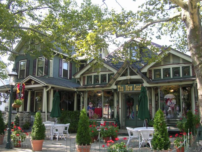 New Leaf Tea Room Riverton New Jersey