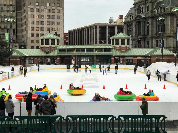 Rhode Island Has The Only Outdoor Rink In The Country With Bumper
