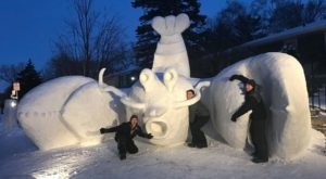 The Incredible Snow Sculpture In Minnesota That You Have To See To Believe