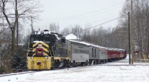 Hop Aboard The Snowflake Express For The Ultimate Wintertime Adventure In Cincinnati