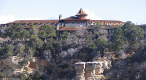 You'll Fall In Love With This Arizona Hotel Sitting At The Edge Of The Grand Canyon