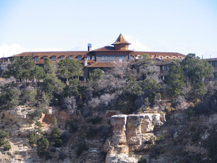Stay the night at el tovar hotel at the grand canyon in for El tovar grand canyon