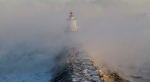It Might Be Freezing, But This Natural Phenomenon In Maine Might Make Up For It
