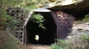 This Amazing Hiking Trail In Ohio Takes You Through An Abandoned Train Tunnel