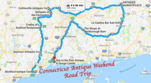 Here's The Perfect Weekend Itinerary If You Love Exploring Connecticut's Best Antique Stores