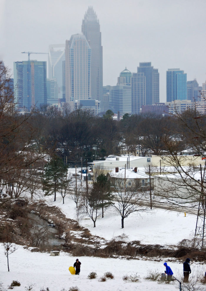 Cordelia Park Has Best Snow Tubing Hill In Charlotte