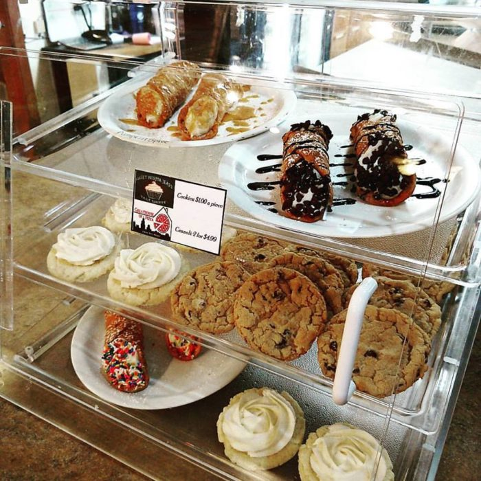Dessert Selection at The Greathouse of Pizza