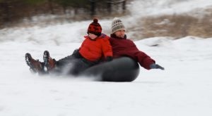 This Epic Snow Tubing Hill Near Chicago Will Give You The Winter Thrill Of A Lifetime