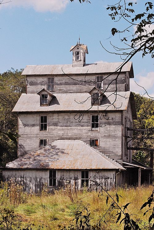 This Abandoned Grist Mill Hiding In Virginia Is Hauntingly