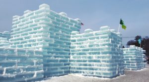 The One Staggering Ice Castle In New York You Need To See To Believe