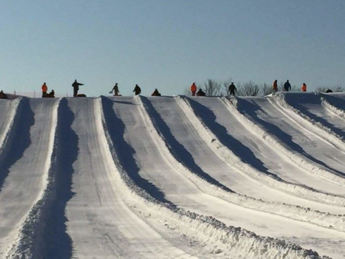 Koteewi Run Seasonal Slopes Is Best Snow Tubing Hill In