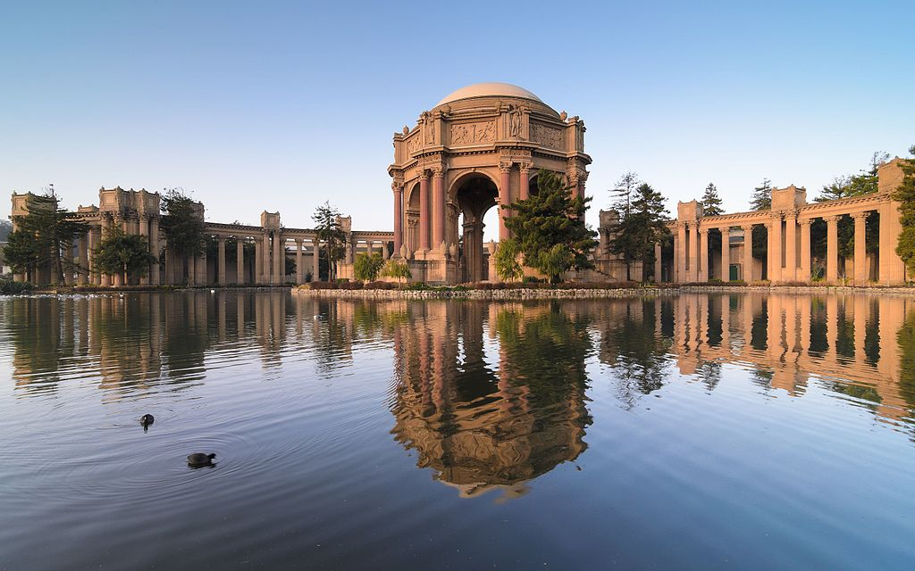 francisco san visit places fine palace arts california around