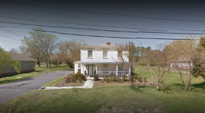 This House In Virginia Made Entirely Of Tombstones Is Beyond Eerie
