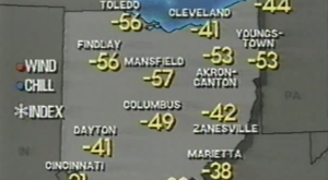In 1994, Ohio Plunged Into An Arctic Freeze That Makes This Year's Winter Look Downright Mild