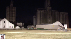 This Massive Corn Spill From A Silo Collapse Is So Perfectly Ohio