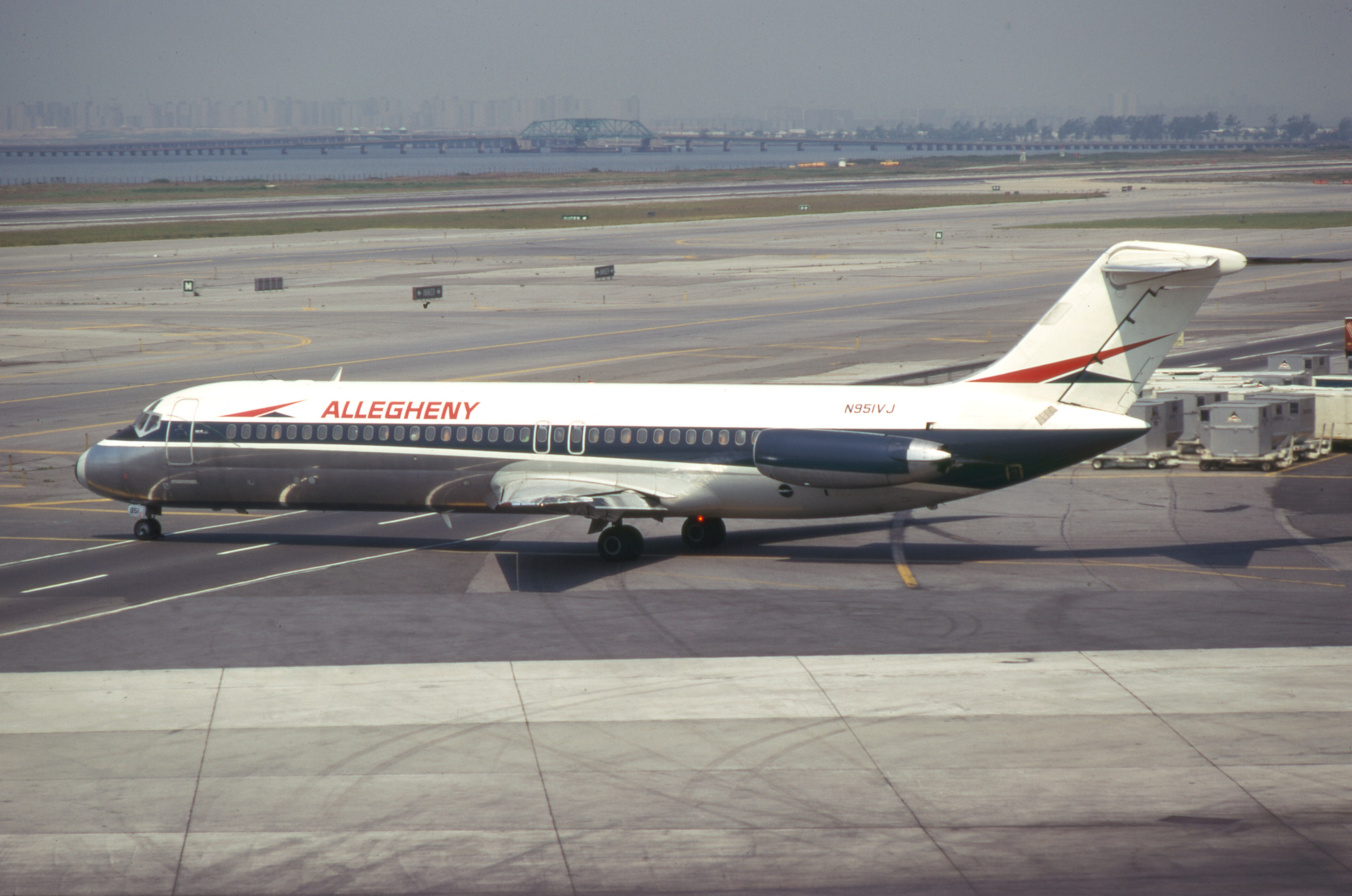 Allegheny Airlines Flight 853 In Indiana Was One Of The