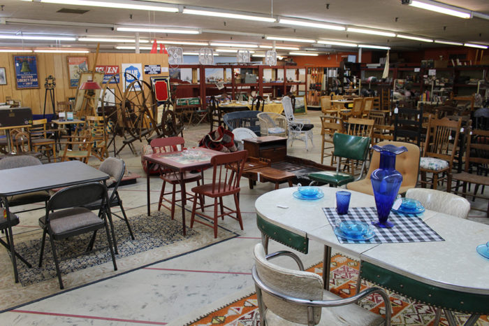 No matter what you're looking for, you're sure to find it. Naturally, they  have a large selection of antique furniture. - New Hampshire's Laconia Antique Center Is Amazing And Worth A Visit
