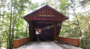 The Longest Covered Bridge In Alabama Is Nothing Short Of Spectacular
