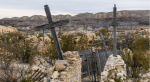 The Story Behind This Ghost Town Cemetery In Texas Will Chill You To The Bone
