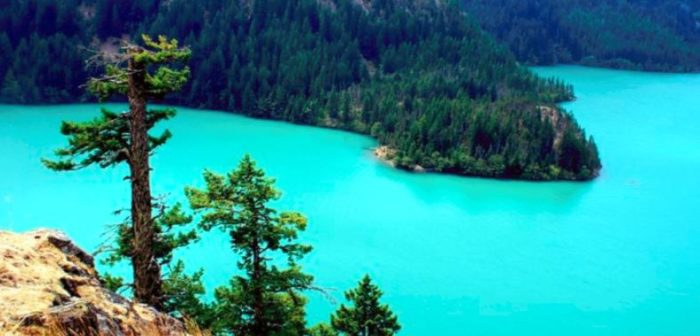 This Hidden Sapphire Lake Is One Of The Most Beautiful In The Whole Wide World