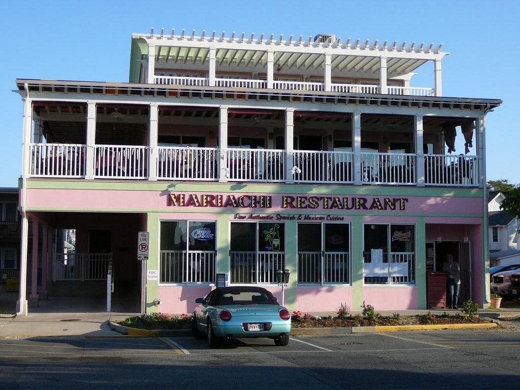 Restaurant Rehoboth Beach De Menu