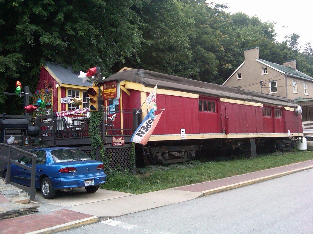 The Train Themed Restaurant In West Virginia That Will