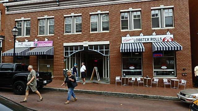 Ballpark Restaurant Street Maryland