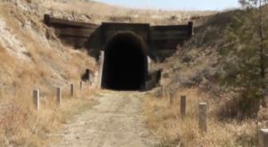 This Amazing Hiking Trail In North Dakota Takes You Through An Abandoned Train Tunnel