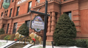 You Have To Visit This Historic New Hampshire Library Restaurant