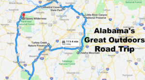 Take This Epic Road Trip To Experience Alabama's Great Outdoors