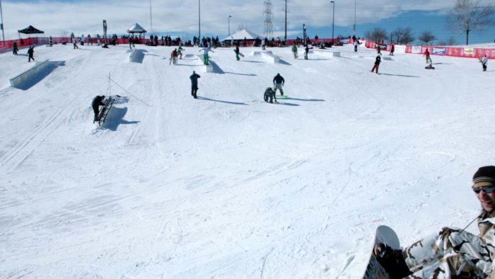 Ruby Hill Rail Yard Is An Urban Terrain Park In Denver