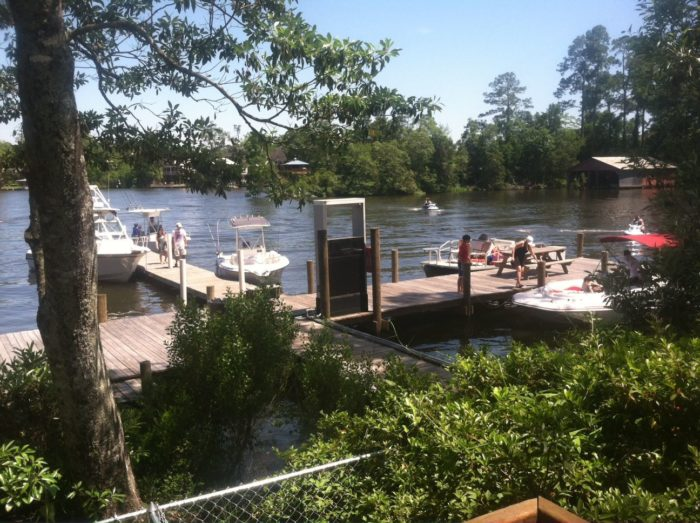 This unassuming restaurant serves the best seafood in alabama for Fish river grill fairhope al