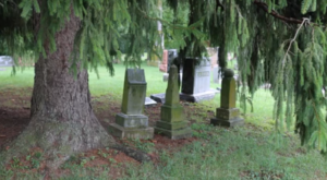 The Story Behind This Ghost Town Cemetery In Indiana Will Chill You To The Bone