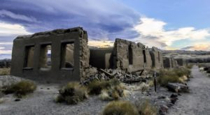 Most People Don't Know About These Strange Ruins Hiding In Nevada