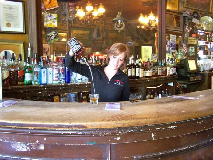 Genoa Bar And Saloon Is The Oldest Bar In Nevada